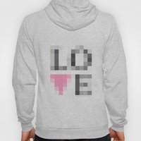 Exaggerated Pixelated LO… Hoody