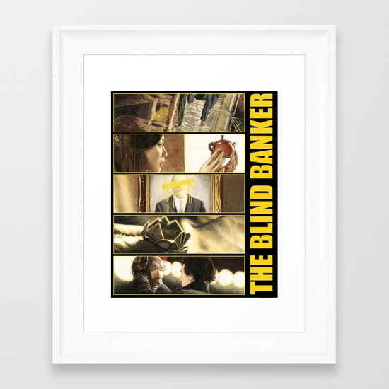 The Blind Banker Framed Art Print