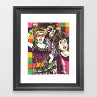 The Past is So Bright I Gotta Wear Shades Framed Art Print