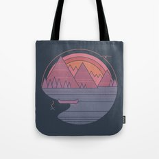 The Mountains Are Callin… Tote Bag