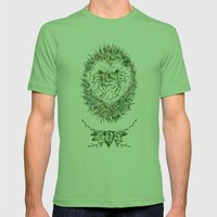 Little Hadgehog Mens Fitted Tee Grass SMALL