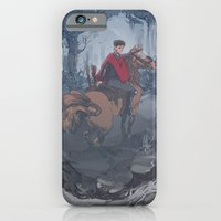 iPhone & iPod Case featuring Riot Horse by Nick Zutrau