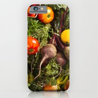 iPhone & iPod Case featuring Mixed Organic Vegetables With Tomatoes Beets & Carrots by diane555
