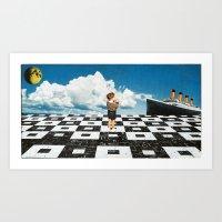 Ahoy, Sir! Art Print