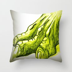 Dragon's Claw Throw Pillow