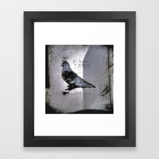 Rings, Wings, Halo's or Horns... Framed Art Print