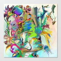 Visible Unrealities Canvas Print