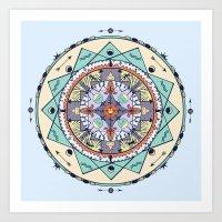 Time And Light Native Sh… Art Print