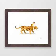 Wild Adventure - Tiger Framed Art Print