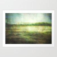 Fishbourne Marshes Art Print