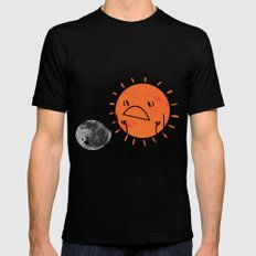 Ultimate Mooning Black SMALL Mens Fitted Tee