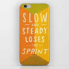 slow and steady loses the sprint iPhone & iPod Skin