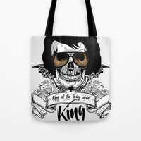 Elvis Presley | The King of the Living Dead Tote Bag