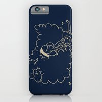 iPhone & iPod Case featuring Girl and sheep. by Laura Gómez