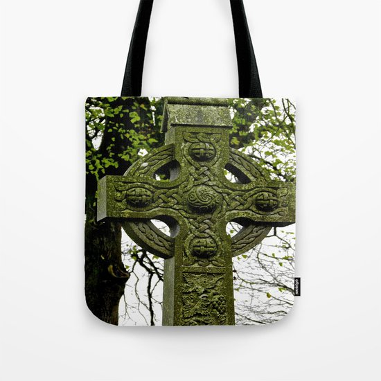 Celtic Cross at Monasterboice Tote Bag