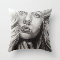 Find The Light     By Da… Throw Pillow