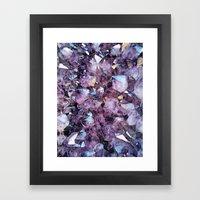 Up Close & Personal Framed Art Print