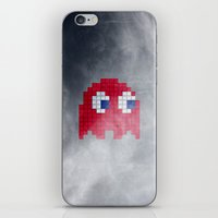 Pac-Man Red Ghost iPhone & iPod Skin