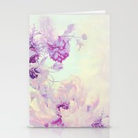 pastel Stationery Cards featuring pastel bouquet by clemm