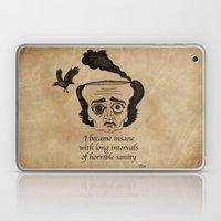 Poe insane Laptop & iPad Skin