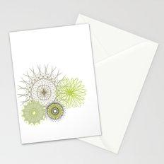 Modern Spiro Art #4 Stationery Cards