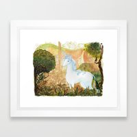 Last Unicorn Framed Art Print