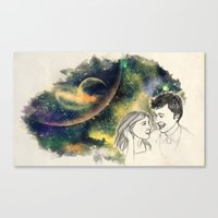 When we're together Canvas Print