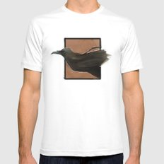 The Raven  Mens Fitted Tee White SMALL