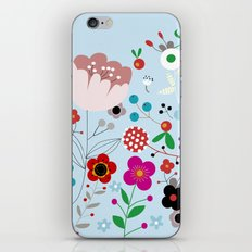Flowers_5 iPhone & iPod Skin