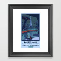 Zangarmarsh Classic Rail… Framed Art Print