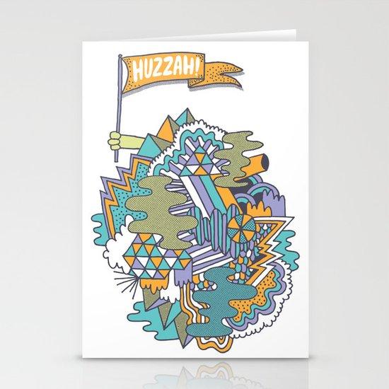 Huzzah! Stationery Card