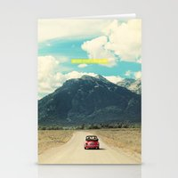 NEVER STOP EXPLORING III Stationery Cards