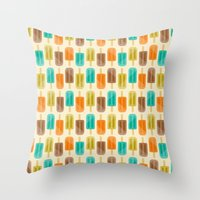 Popsicle Throw Pillow