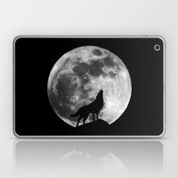 Howling Wolf Laptop & iPad Skin