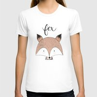 T-shirts featuring FOX by Acuarela