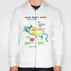 Cat Flow Chart Hoody
