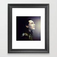 Loki - Incomplete Framed Art Print