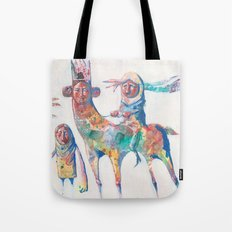 colour nomads Tote Bag