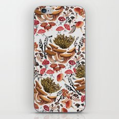 Autumnal Fungi iPhone & iPod Skin