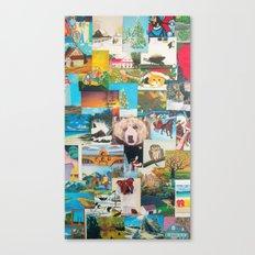 Cartes Canvas Print