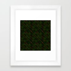 Merry Christmas All Over Framed Art Print