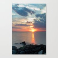 Sandy Hook Sunset Canvas Print