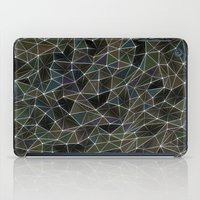 Abstract Digital Waves iPad Case