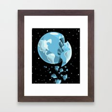 Global Warming Framed Art Print
