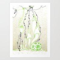 Nature grabs Art Print