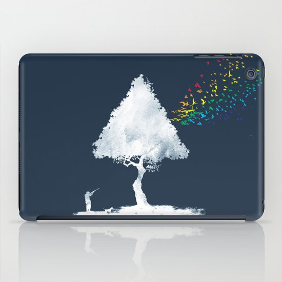 colourful hunting iPad Case