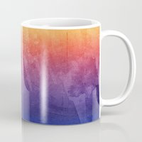 Purple, Pink, Orange Wat… Mug