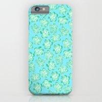 Wallflower - Tea Teal iPhone 6 Slim Case