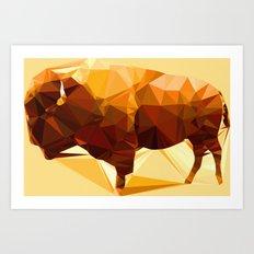 Syncerus caffer Art Print