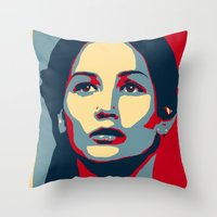 Hunger Games - Hope Throw Pillow